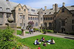 The University's Inner quad