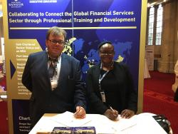 Botswana Partnership Agreement: Professor John Ashton & Lydia Andres