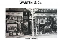 One of Wartski's two Llandudno stores.