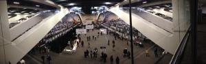 The AGU poster hall - lots of posters, all replaced every day for 5 days!