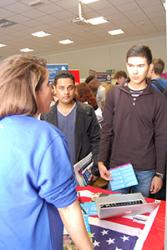 A number of employers and organisations took part in the annual Jobs Fair recently. Exhibitors spoke to students about part time jobs, graduate schemes and voluntary opportunities.