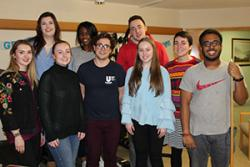 Bangor University students regularly volunteer at the Hergest Unit