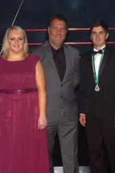 Huw Ynyr and Losi Eifion with Bryn Terfel.