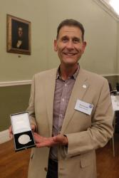 Prof Gary Carvalho was awarded the Beverton Medal for his ground-breaking research and lifelong contribution to fish and fisheries science.