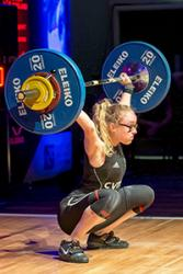 Catrin Jones: Young British Weightlifter of the Year 2017