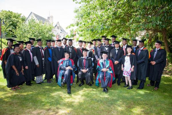 Chartered Banker MBA graduates of 2014