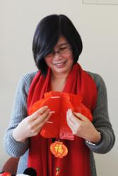 Prof Liying Zhang creates a Chinese Lantern