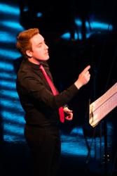 Choir conductor, Welsh & Music student Steffan Dafydd: Image courtesy of and copyright S4C