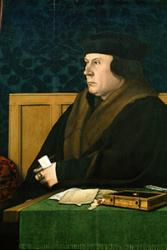 Brought to life: Thomas Cromwell. : Hans Holbein via the Frick Collection.(detail) via Wikimedia Commons