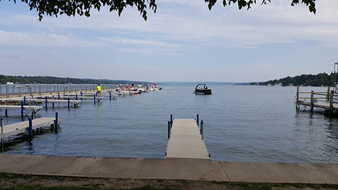 Lake Skaneateles, photo courtesy of Kristy Deiner