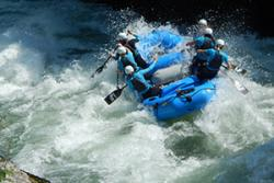 The White Water Rafting team.