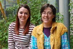 Leah Johnstone and Kami Koldewyn will be taking part in Soapbox Science in Swansea.