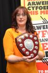 Dinah Jennings, a Childhood Studies student from Llandudno received the Peer Guide of the Year Award.