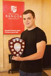 Ben Minchell received the Peer Guide of the Year Award.