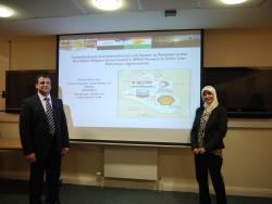Sinan Ali (right) and Nidham Al Abasey (left)