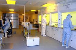 The Clean Room  facility at the School of Electronic Engineering