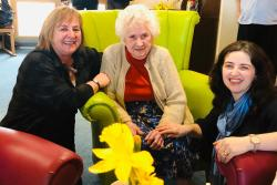 Care home residents in Aberystwyth have been enjoying music that has a personal resonance for them at a special event ahead of Welsh Language Music Day on February 8th.