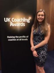 Elan at the UK Coaching Awards