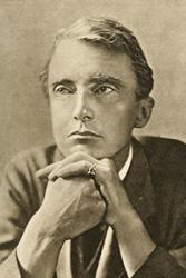 Edward Thomas used English to write about the spirit of Wales.: Arthur St John Adcock/Wikimedia