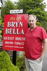 Mark Edwards of Bryn Bella Guest House.