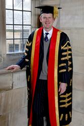 George Meyrick is Bangor University's new Chancellor