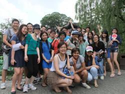 The SILC Shanghai University Summer School 2012 group