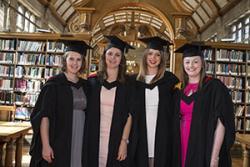 L-R: Medi Griffiths, Gwenno Williams,Nia Gwynedd & Catrin Williams