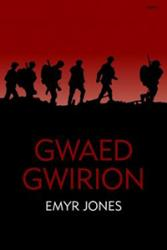 The cover of the new edition of gwaed Gwirion.