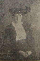 A contemporary newspaper image of Gwen Ellen Jones, published at the time of her murder.: With thanks to the Daily Post and Gwynedd Archives Service.