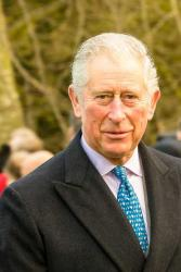 The Prince of Wales on Christmas Day 2017: By Mark Jones - click for link CC by 2.0