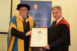 Banking Professor John K Ashton receives Professional Award
