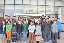 Professor Linton (centre) with her International Criminal Law class at Zejiang Gongshang University Law School, Hangzhou