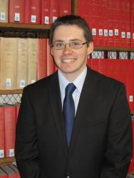 PhD student Huw Pritchard took joint first prize in the Legal Wales Conference essay contest.