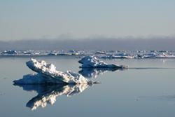 Sea Ice: Image credit Ben Lincoln