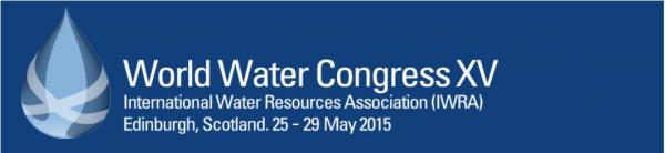 IWRA World Water Congress Conference: Edinburgh, 25-29 May 2015