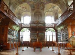 Library Hall of Rajhard Abbey