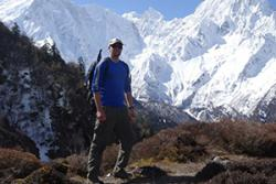 James in the Himalayas
