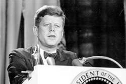 JFK remains among the most charismatic presidents in US history. : Florida Memory, State Library of Florida