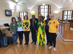 The Jamaican High Commissioner Visits Bangor