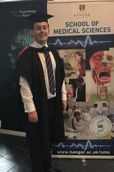 James has now graduated from Bangor University with a degree in Medical Sciences.