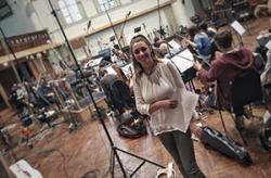 Joanna at Air Studios, London