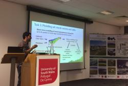 Resilcoast Fellow Dr Jordi Pagès speaking at the NRN-LCEE Summer Meeting.