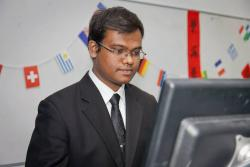 Kamrul Hassan presents at Asia Day