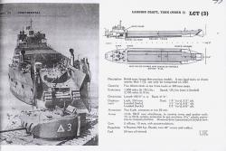 Plan drawings of the LCT 326