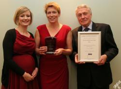 Sarah Pullen, Food Dudes Health; Dr. Barbara Watt, Public Health Consultant, Walsall MDC and Professor Fergus Lowe