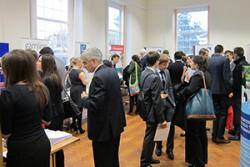 Last year's busy Law Fair