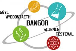 School of Biological Sciences' student Katy Blakeley's winning logo for the Festival