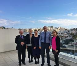 Partner Visit with IFS Malta