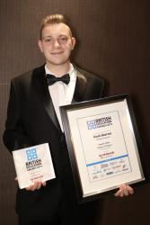 Mark Barrow at the British Education Awards