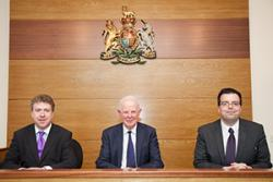 Dermot Cahill (Head of the School of Law), Lord Chief Justice, Stephen Clear (School of Law)